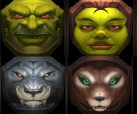 estas son las nuevas razas,apareceran tambien en shrek IV